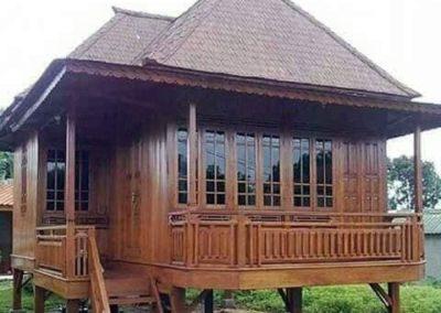 rumah kayu knock down foto11