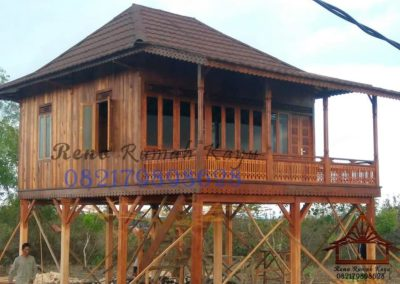 rumah kayu knock down foto2