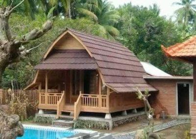 rumah kayu penginapan foto13